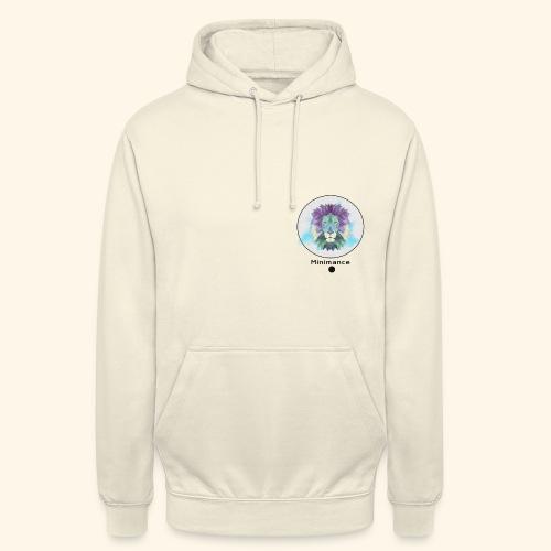 GEOMETRIC LION - Sweat-shirt à capuche unisexe