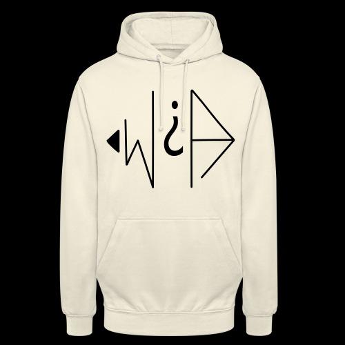 W et A - Sweat-shirt à capuche unisexe