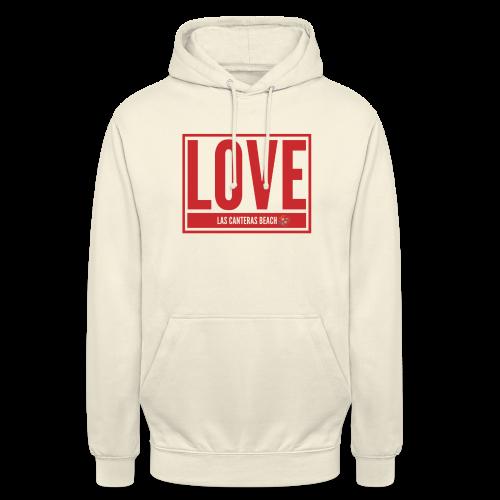 Love Las Canteras - Sudadera con capucha unisex
