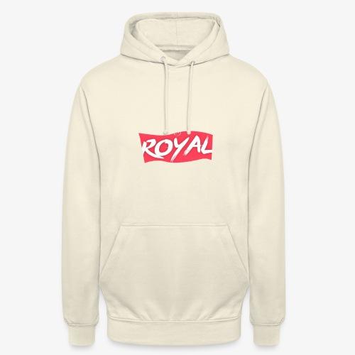 Royal Box - Sweat-shirt à capuche unisexe