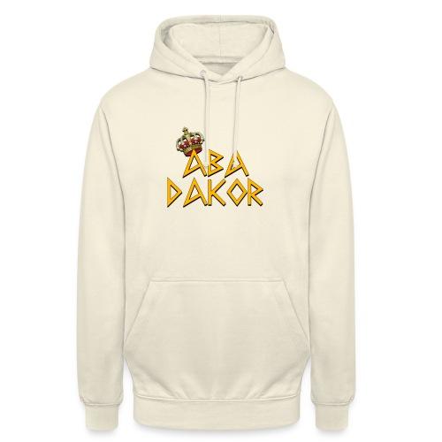 Abadakor - Sweat-shirt à capuche unisexe
