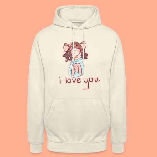 i love you - Unisex Hoodie