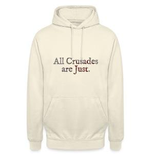 All Crusades Are Just. Alt.2 - Unisex Hoodie