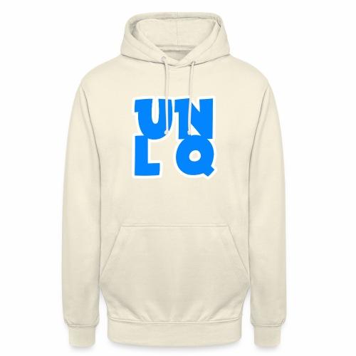 Mit dem Orginalen UNLQ Logo - Unisex Hoodie