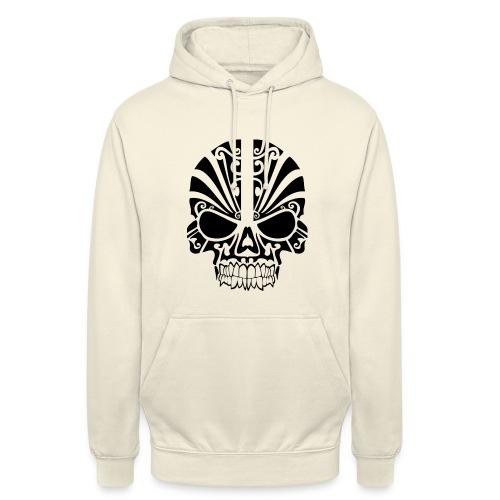 tribal skull - Unisex Hoodie