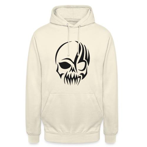 tribals skull - Unisex Hoodie