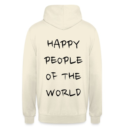 Happy People Of The World - Hoodie unisex