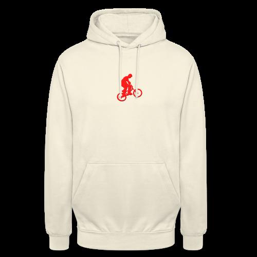 Red BMX Rider - Unisex Hoodie