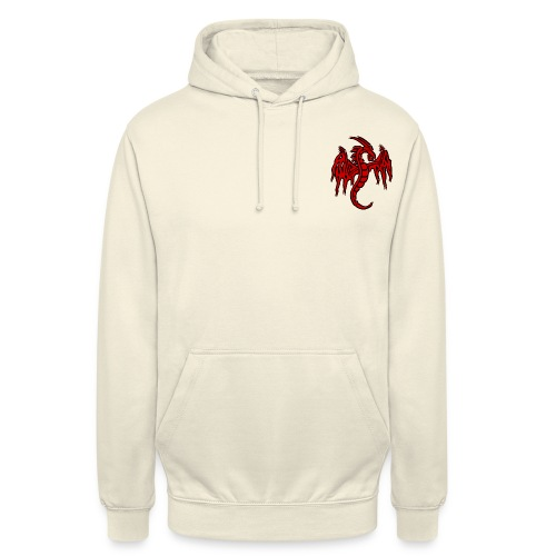 dragon chinois - Sweat-shirt à capuche unisexe