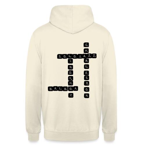 Scrabble - Sweat-shirt à capuche unisexe