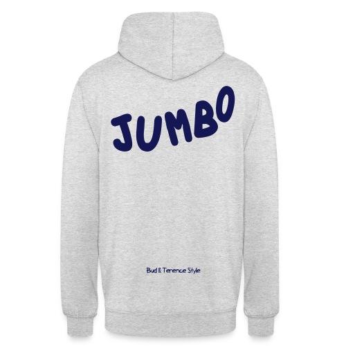 Jumbo - Felpa con cappuccio unisex