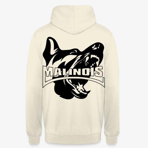 malinois - Sweat-shirt à capuche unisexe