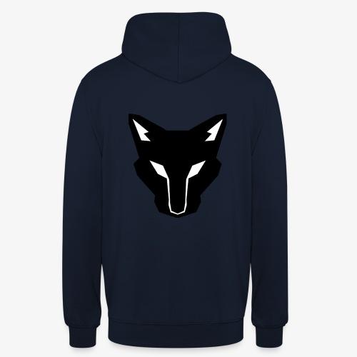 OokamiShirt Noir - Sweat-shirt à capuche unisexe
