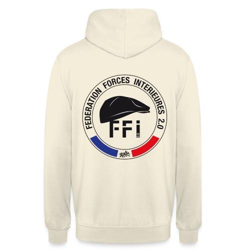 FFi beret NOIR - Sweat-shirt à capuche unisexe
