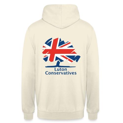 Luton Conservatives Badge - Unisex Hoodie