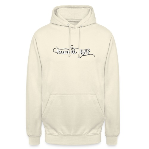 Born-to-RUN---Logo---White.png - Unisex Hoodie