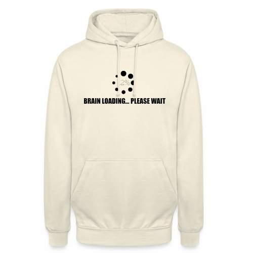 brain - Sweat-shirt à capuche unisexe
