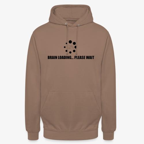 brain - Sweat-shirt à capuche unisexe