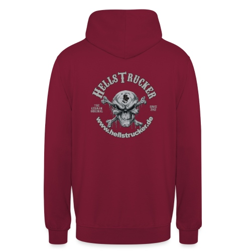HellsTruckerLogo - Unisex Hoodie