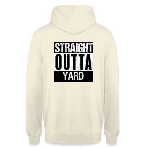straight outta yard - Hoodie unisex