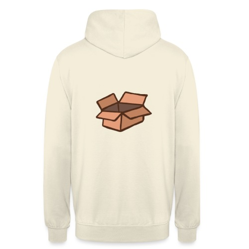 Grand Carton - Sweat-shirt à capuche unisexe