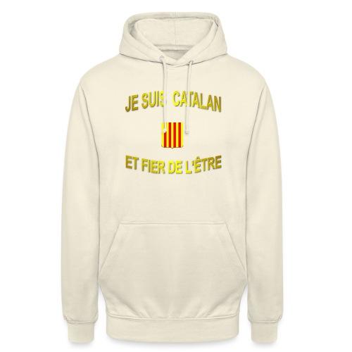 Tee-Shirt supporter du pays CATALAN - Sweat-shirt à capuche unisexe