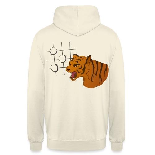 Tiger Mouth - Sweat-shirt à capuche unisexe