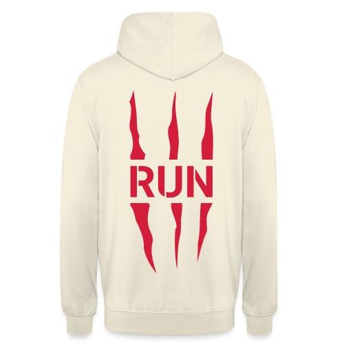 Run Scratch - Sweat-shirt à capuche unisexe