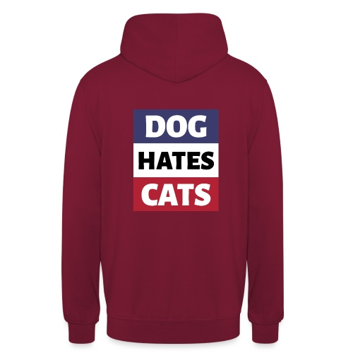 Dog Hates Cats - Unisex Hoodie