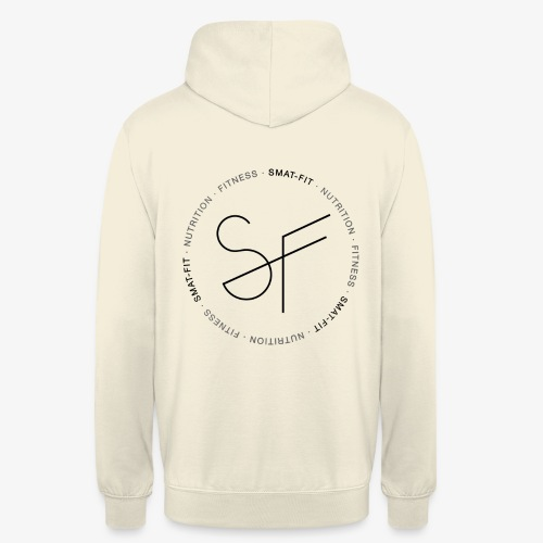 SMAT FIT nutrition & fitness white home - Sudadera con capucha unisex