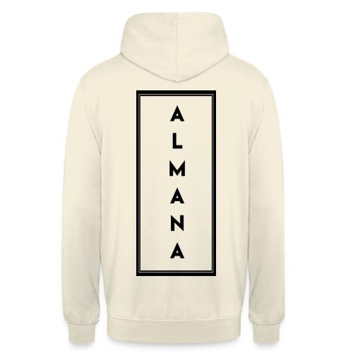 """Collection """"Almana Back"""" - Sweat-shirt à capuche unisexe"""