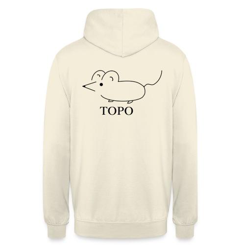 topo - Sweat-shirt à capuche unisexe