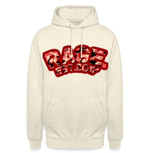 RAGE EST .2017 RED - Unisex Hoodie
