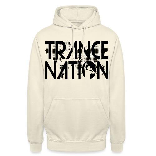 Trance Nation (Black) - Luvtröja unisex