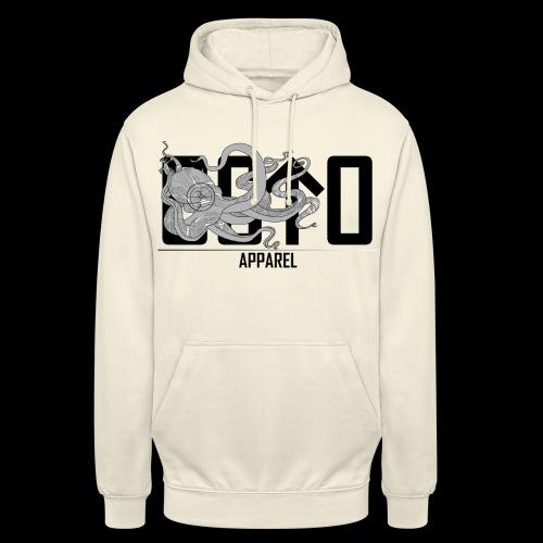 OctoApparel Logo schwarz - Unisex Hoodie