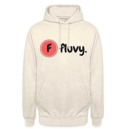 Fluvy Basic - Sweat-shirt à capuche unisexe