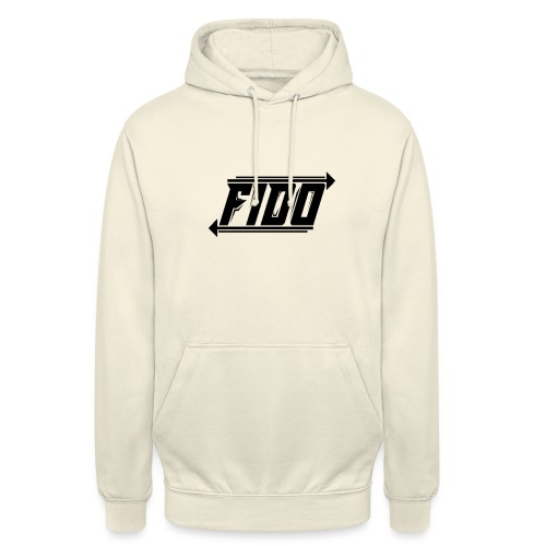 Fido - Simple - Hættetrøje unisex
