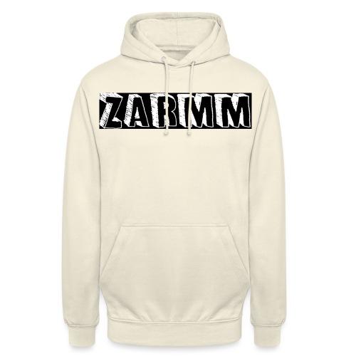 Zarmm collection - Sweat-shirt à capuche unisexe