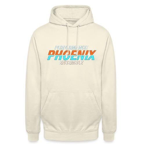 Phoenix Distorted Cyan - Unisex Hoodie