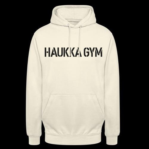 """HAUKKA GYM text - Huppari """"unisex"""""""