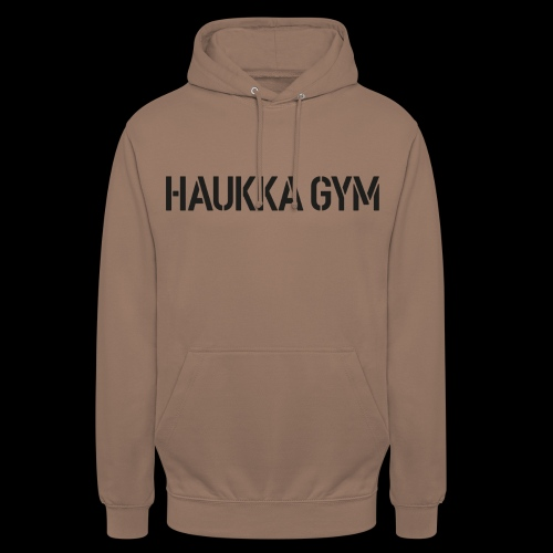 "HAUKKA GYM text - Huppari ""unisex"""