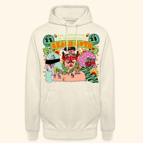 beach goth 2016 - Sweat-shirt à capuche unisexe