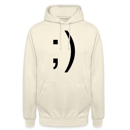 Wink Wink Smile - Unisex Hoodie