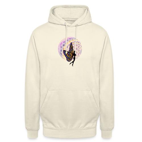 fleur de vie fée - Sweat-shirt à capuche unisexe
