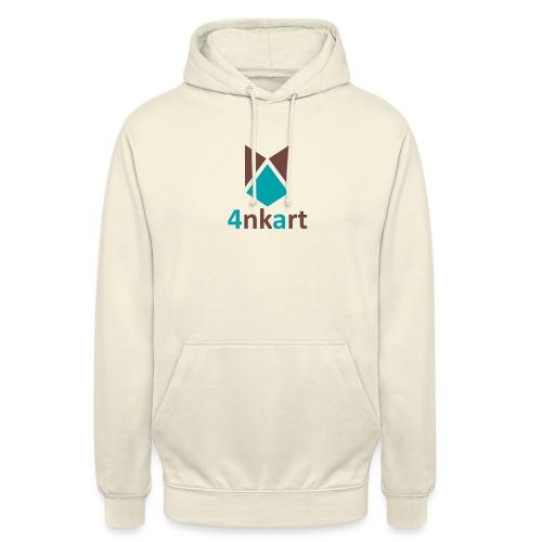 logo 4nkart - Sweat-shirt à capuche unisexe
