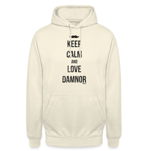 Keep calm and ... (F) - Sweat-shirt à capuche unisexe