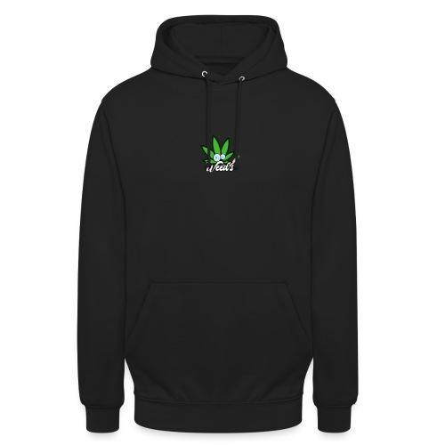 Weed's - Sweat-shirt à capuche unisexe