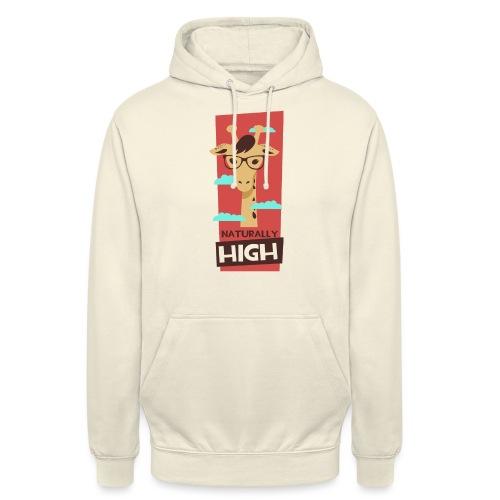 naturally high - Unisex Hoodie