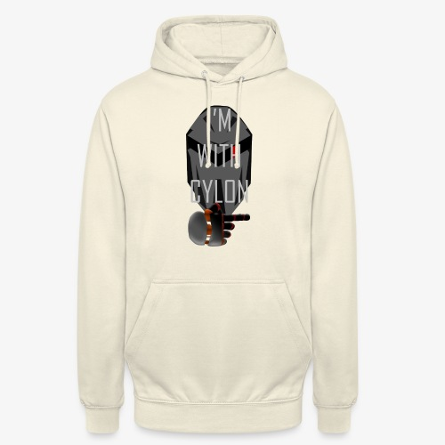 I'm with Cylon - Unisex-hettegenser