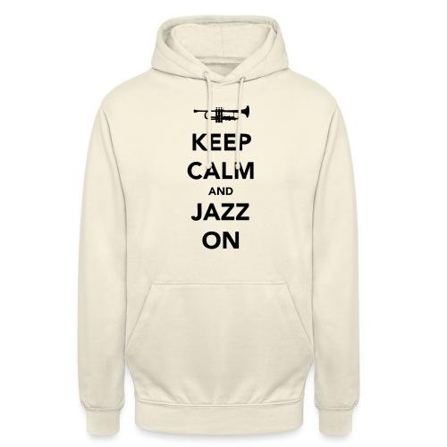 Keep Calm and Jazz On - Trumpet - Unisex Hoodie